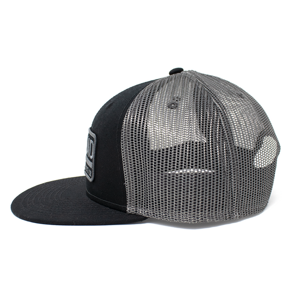 Biscuit Patch Hat Black/Irongate