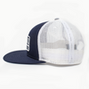 Biscuit Patch Hat Navy/White