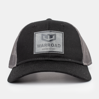 Warroad Logo Patch Hat Black/Asphalt