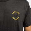 Seeking Victory Button Tee