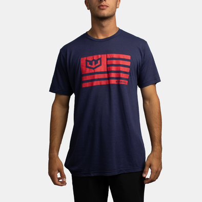 Victory Flag Tee - Midnight