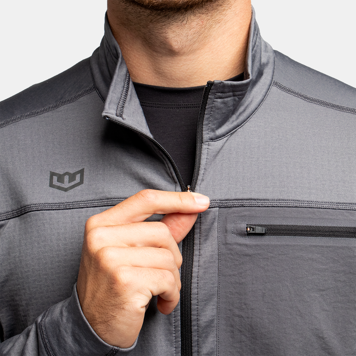 Men's Active 1/4 Zip 2.0 - Irongate