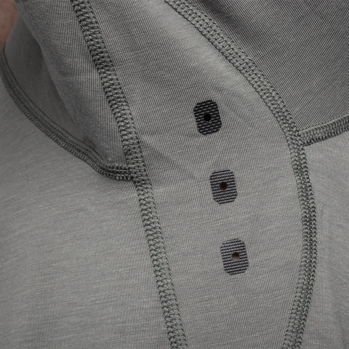 Long Sleeve Tech Tee - Castor Grey