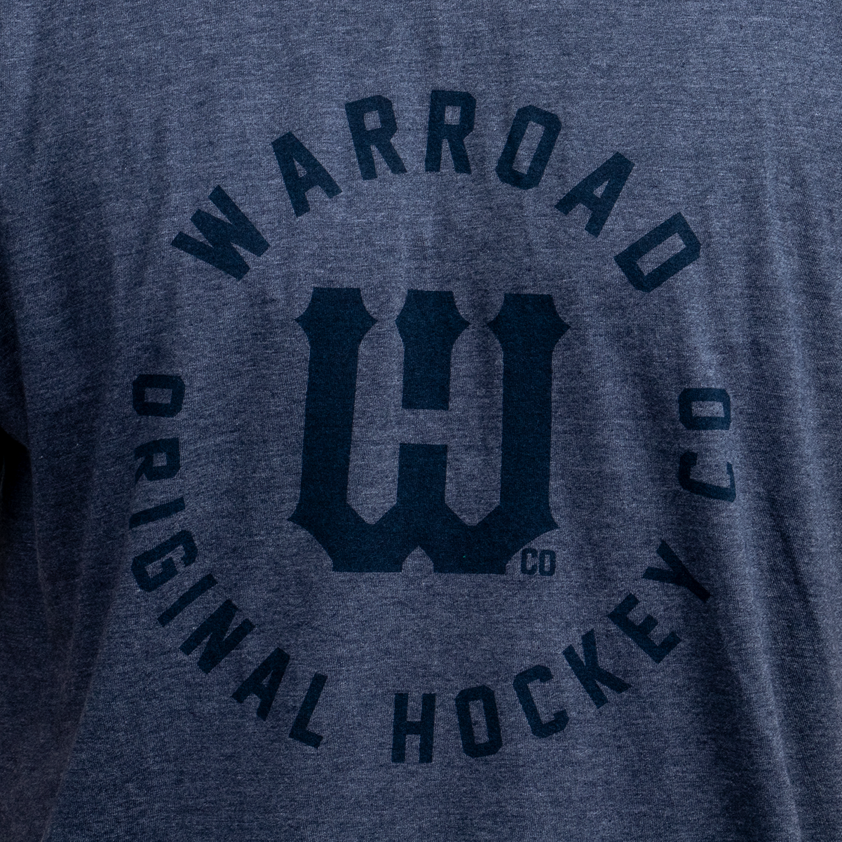 Warroad Player Collection Tee - Heather Denim