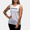 Warroad Women's Muscle Tank -  White