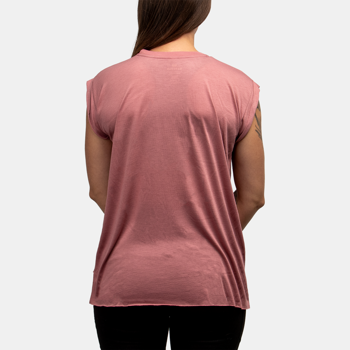 Warroad Women's Cuff Tee - Mauve