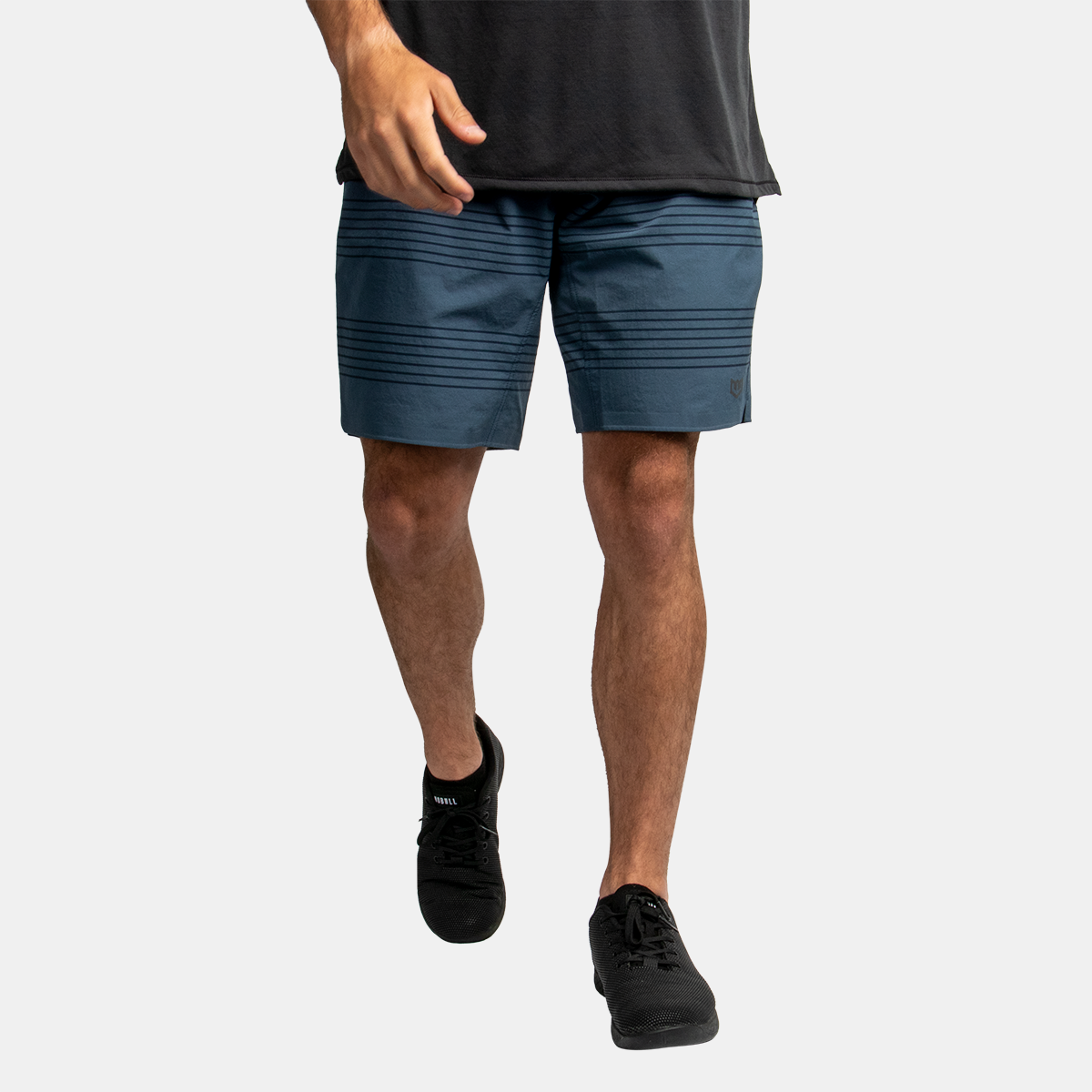Men's Technical Short 2.0 - Navy w/Black Stripe