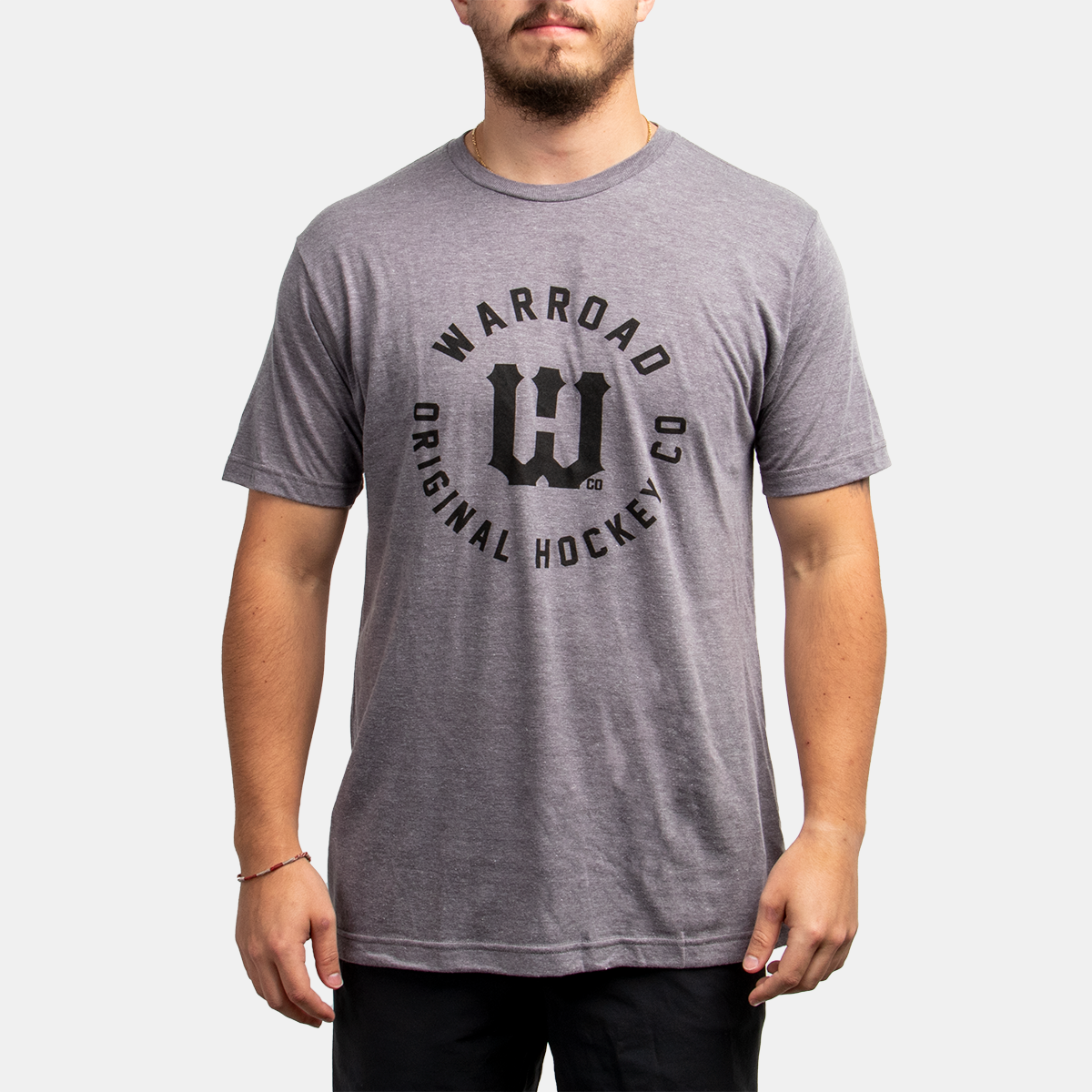 Warroad Player Collection Tee - Heather Grey