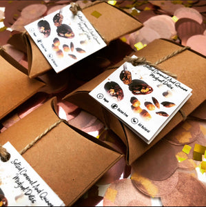 Gift Option with 9 Salted Caramel and Quinoa Stuffed Medjool Dates