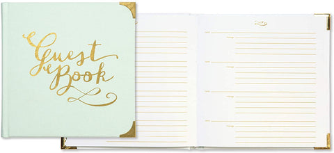 Gilded Mint Guest Book