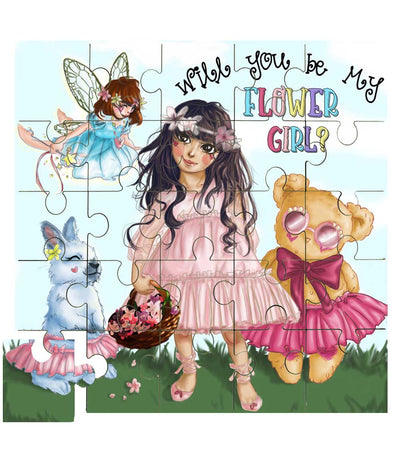 Flower girl puzzle