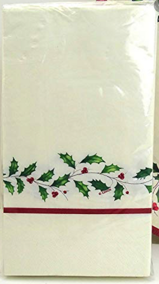 Lenox Holly Dinner Napkin 16ct