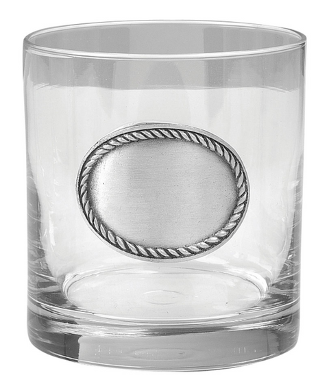 Rope Edge Old Fashioned Glasses