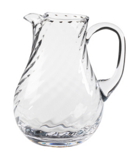 Ottica Glass Pitcher