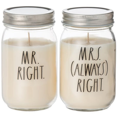 Mrs. Always Right Candle