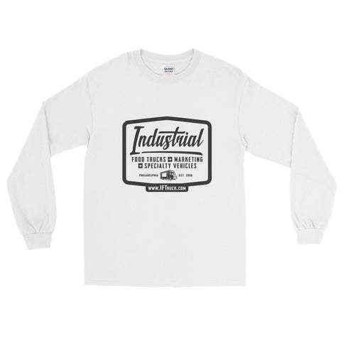 "Industrial Food Truck™ ""Badge"" Long Sleeve T-Shirt"