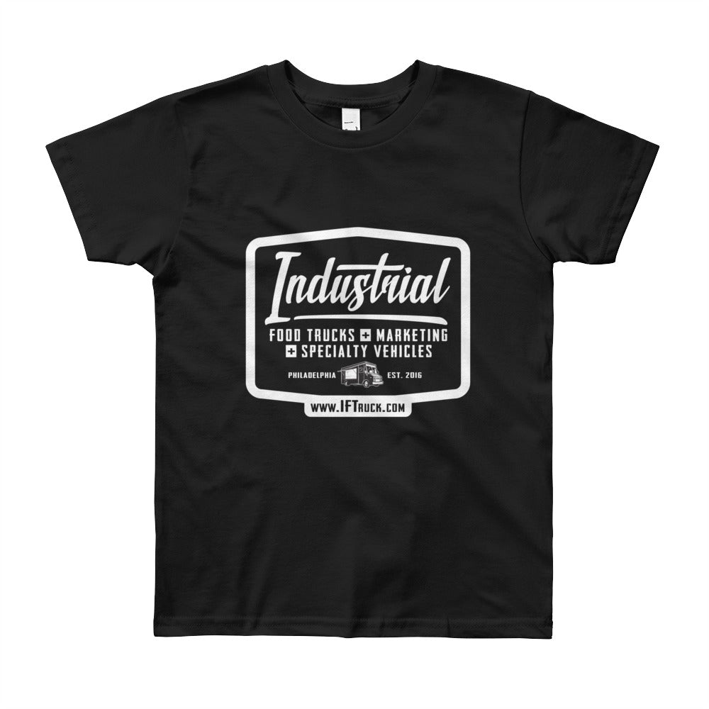 "Industrial Food Truck™ ""Badge"" Youth Short Sleeve T-Shirt"