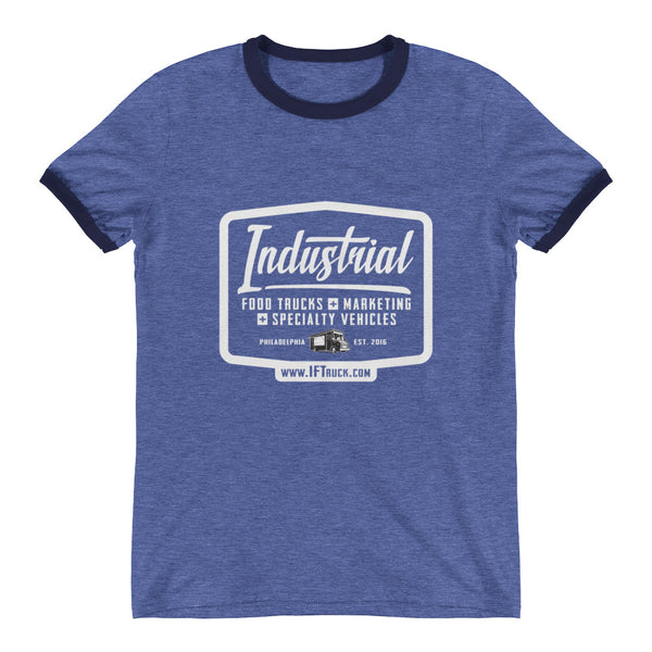 "Industrial Food Truck™ ""Badge"" Ringer T-Shirt"