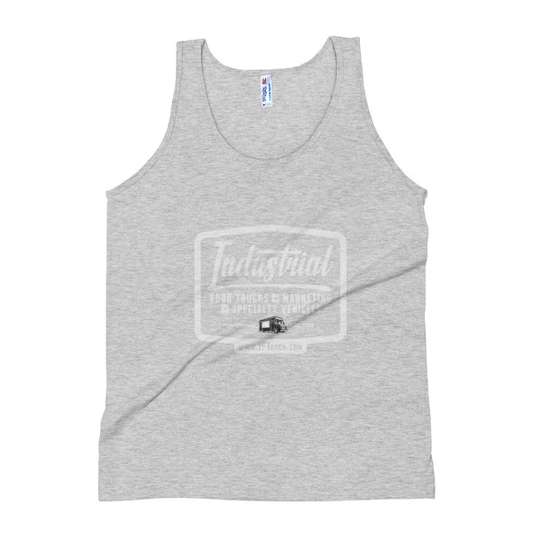 "Industrial Food Truck™ ""Badge"" Unisex Tank Top"