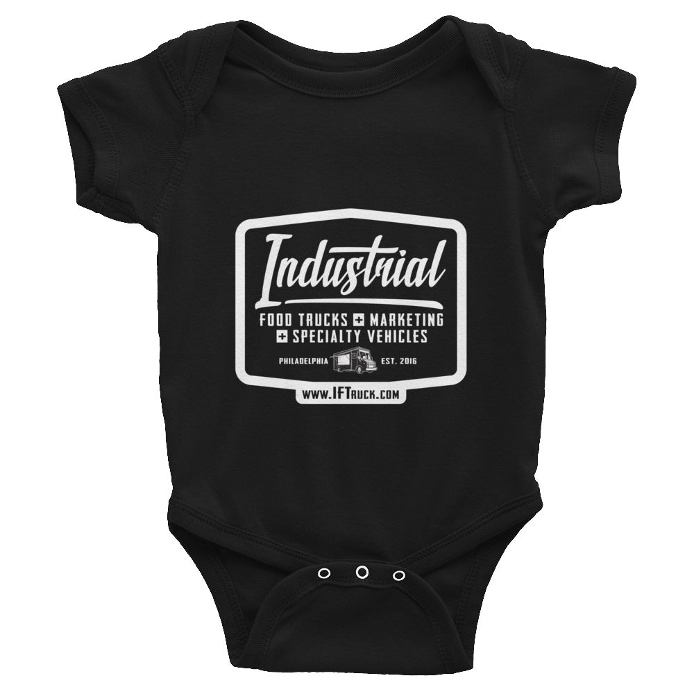 "Industrial Food Truck™ ""Badge"" Infant Bodysuit"
