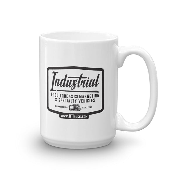 "Industrial Food Truck™ ""Badge"" Mug"