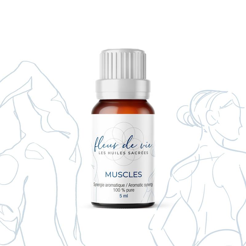 Muscles - Synergie aromatique 100% pure