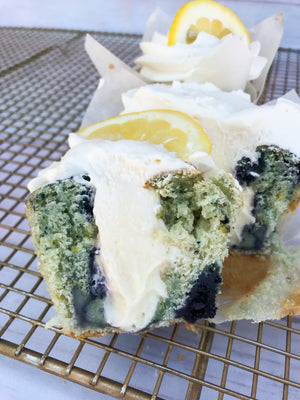 Blueberry Lemon DAY OLD CUPCAKES - May 4th ONLY!