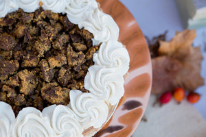 Reese's Peanut Butter Chocolate Pie available only November 20th Gluten Free orders and November 21st.