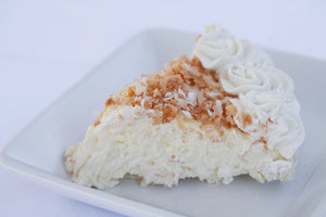 Coconut Cream Pie available only November 20th Gluten Free orders and November 21st.