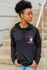 Cravings Black Super Soft Fleece Hoodie