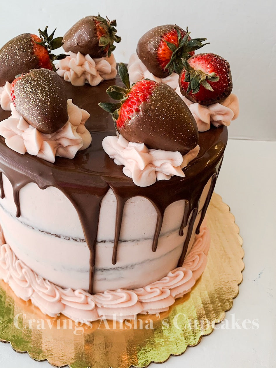 Chocolate Covered 🍓 Cake SEASONAL (available February & May)