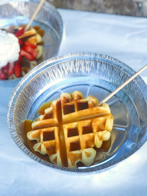 Belgium Waffles ONLY available June 18, 19th & 20th!
