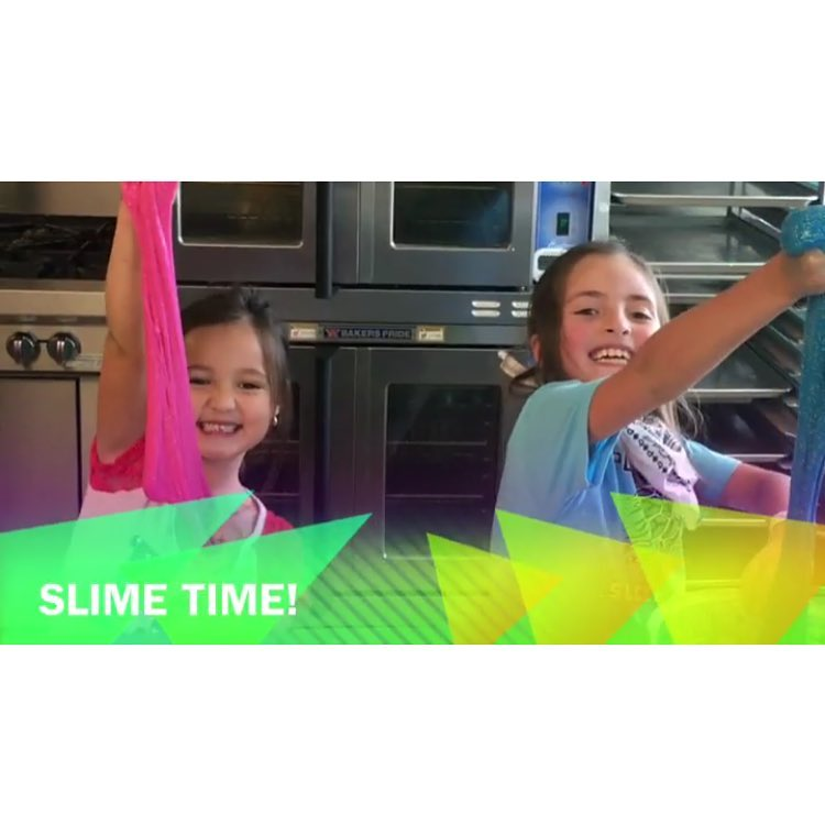 Spring Break Slime Time with Allie!