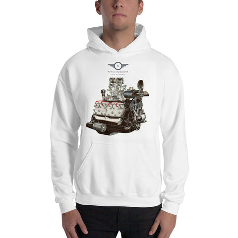Flathead Hooded Sweatshirt