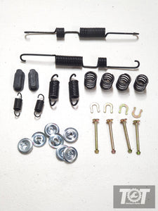 T series diff drum brake shoe fitting kit