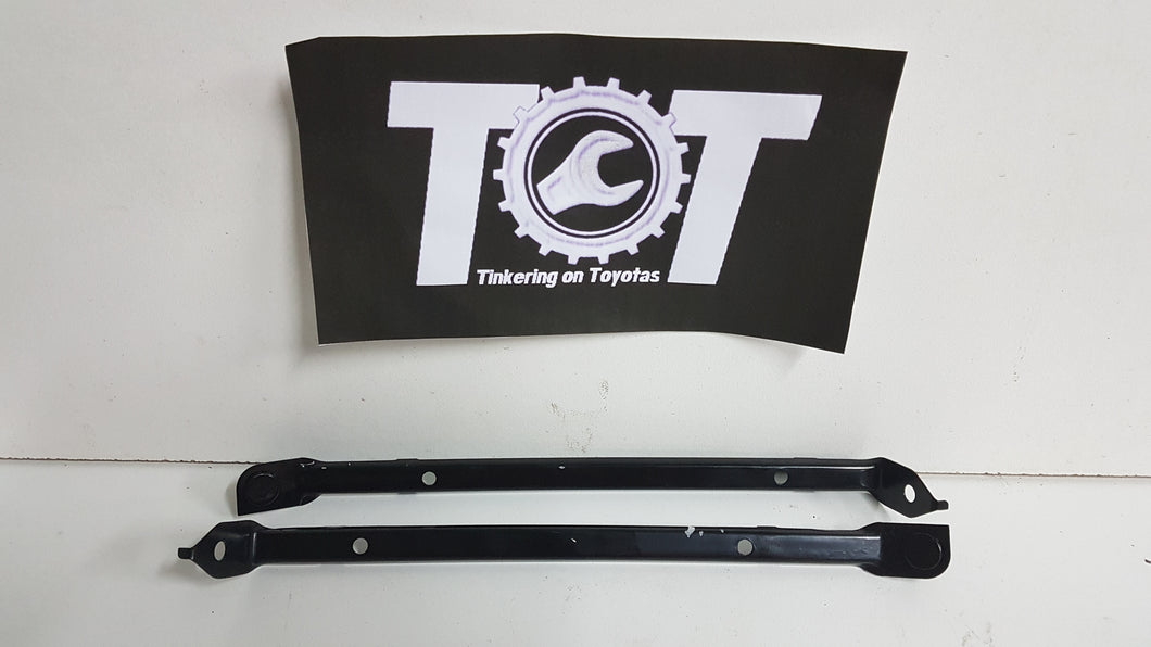 AE86 Levin front bumper support brackets