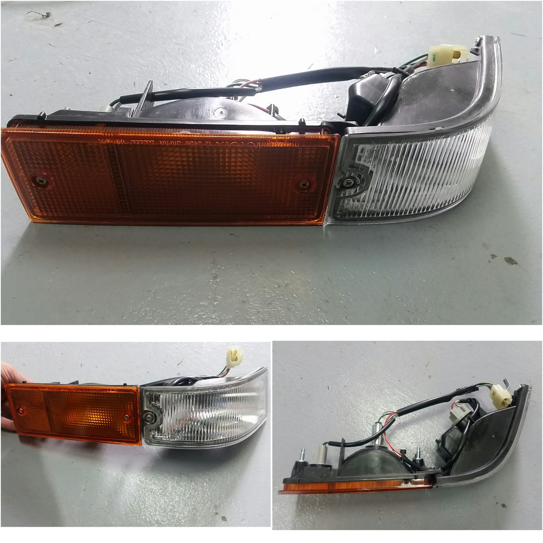 Kouki Trueno front bumper light assembly