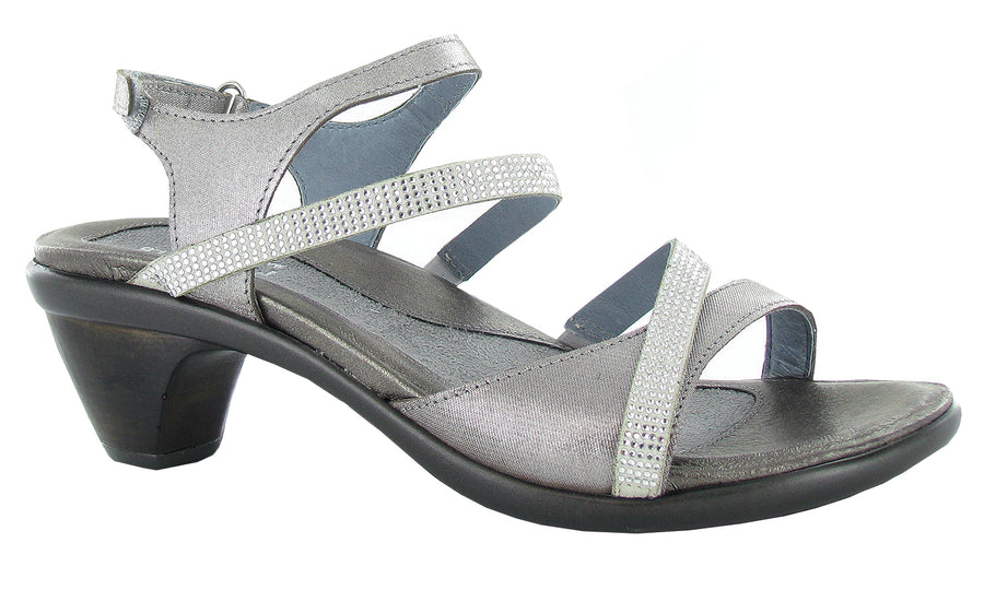 Naot Innovate Dress Sandal Silver