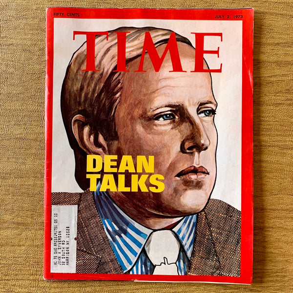 Time Magazine: Dean Talks, July 2, 1973 - Books Above the Bend