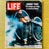 Life Magazine: Johnny Cash, November 21, 1969 - Books Above the Bend