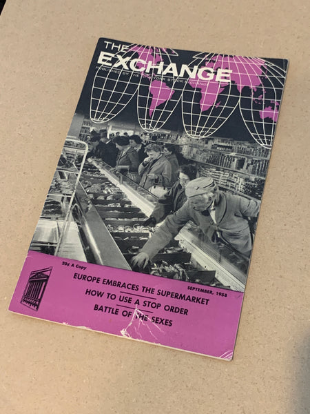 The Exchange: September 1958