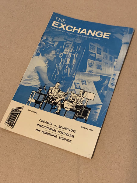 The Exchange: March 1959