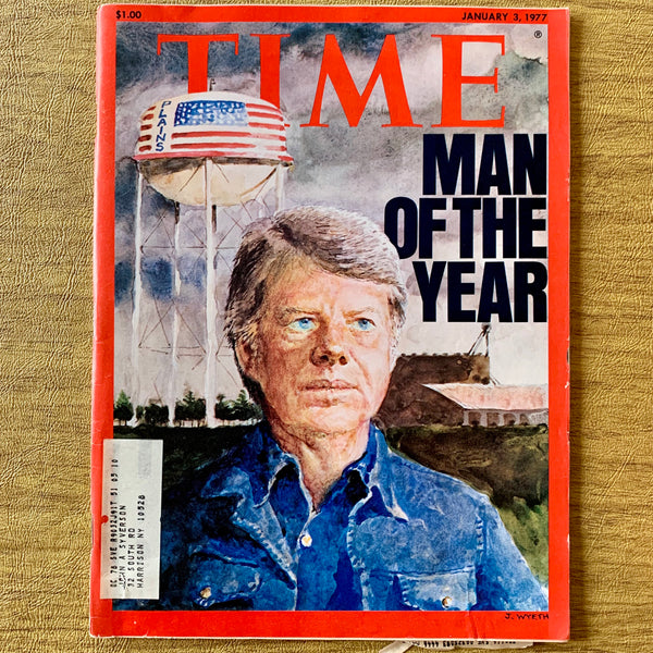 Time Magazine: Man of the Year [Jimmy Carter], January 3, 1977 - Books Above the Bend