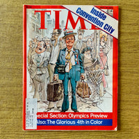 Time Magazine: Inside Convention City, July 19, 1976 - Books Above the Bend