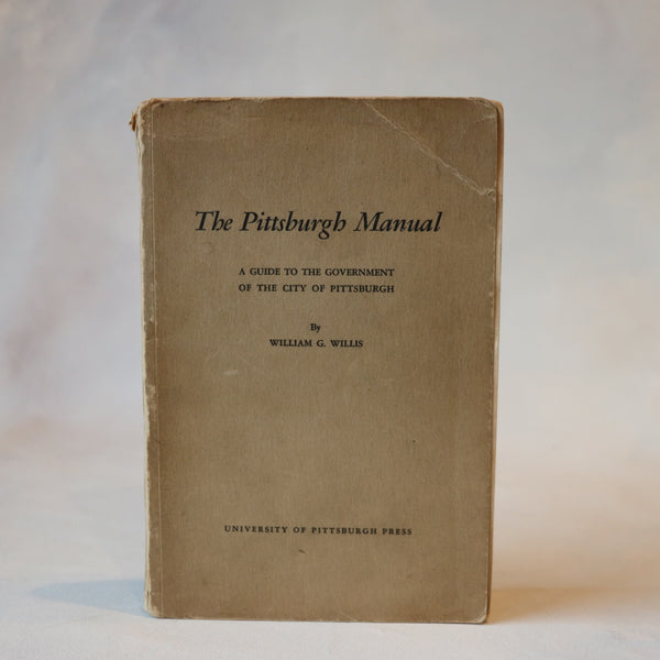 The Pittsburgh Manual - Books Above the Bend