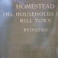 Homestead: the Households of a Mill Town - Books Above the Bend