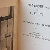 Fort Duquesne and Fort Pitt - Books Above the Bend