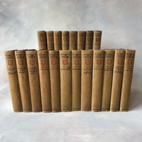 The Works of Joseph Conrad (1921 - 1927, 20 Volumes, Signed) - Books Above the Bend