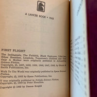 First Flight: Maiden Voyages in Space and Time - Books Above the Bend