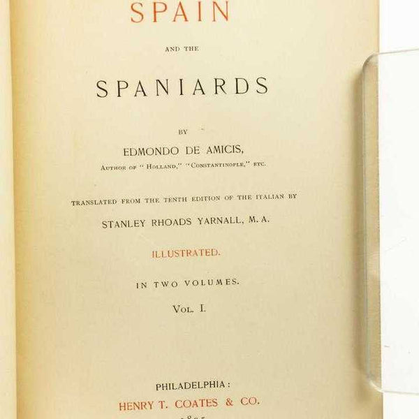 Spain and the Spaniards - Books Above the Bend